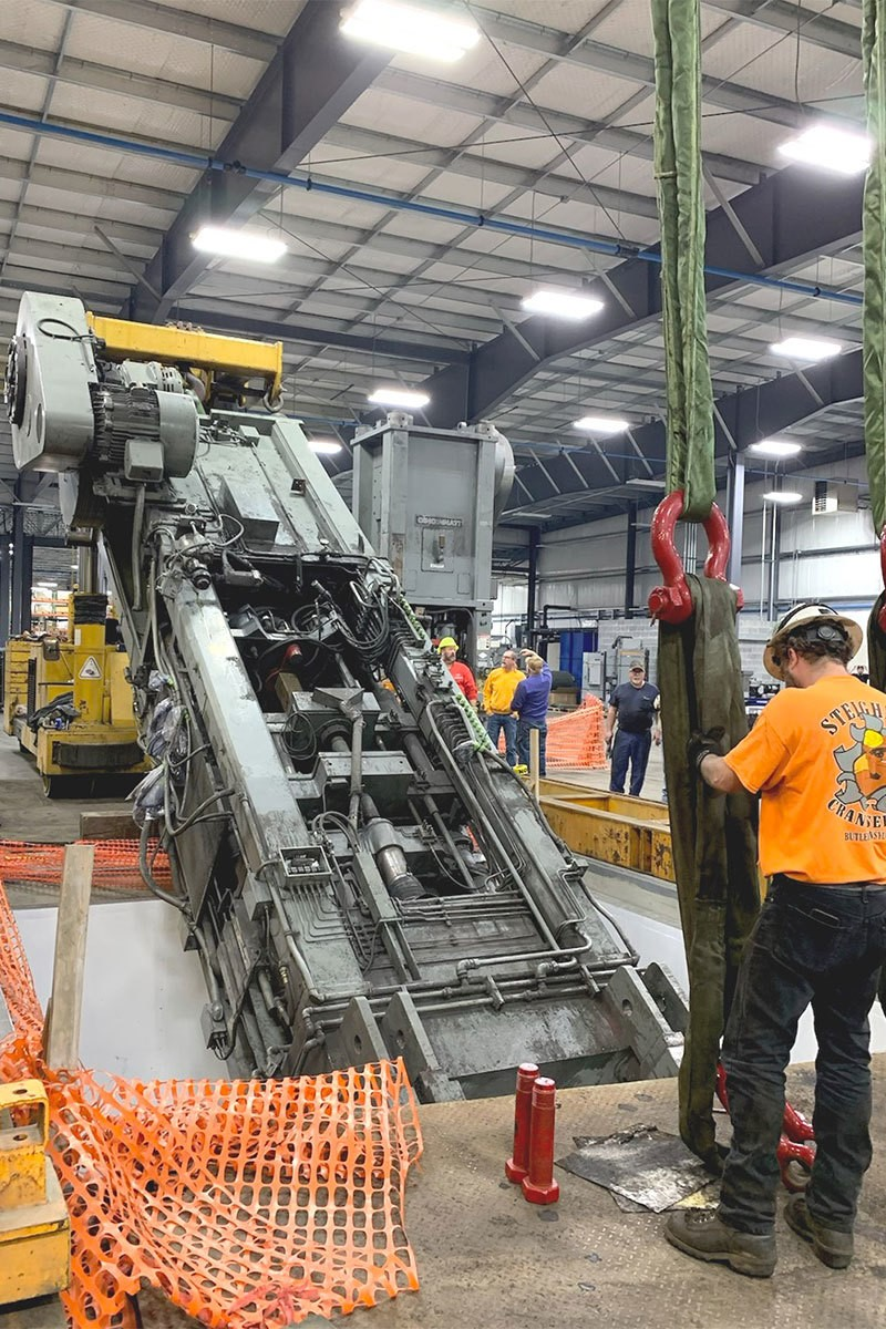 New 825 Ton Compaction Presses