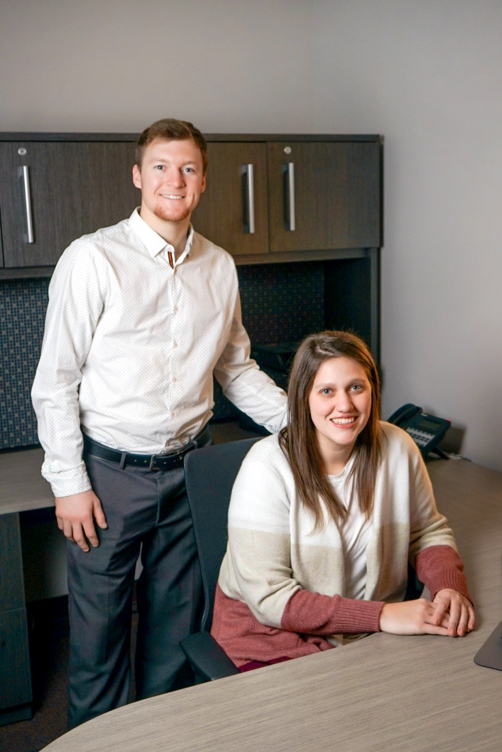 Two Penn State DuBois campus grads join the Atlas Pressed Metals team